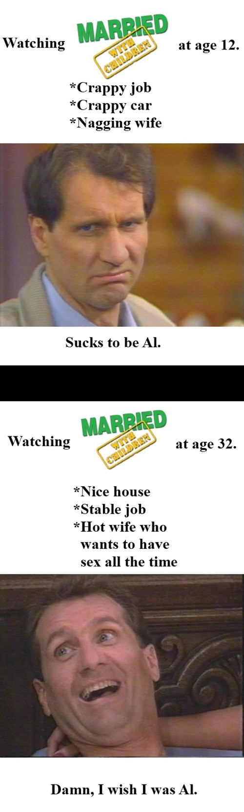 now vs then,al bundy,married with children,g rated,Parenting FAILS