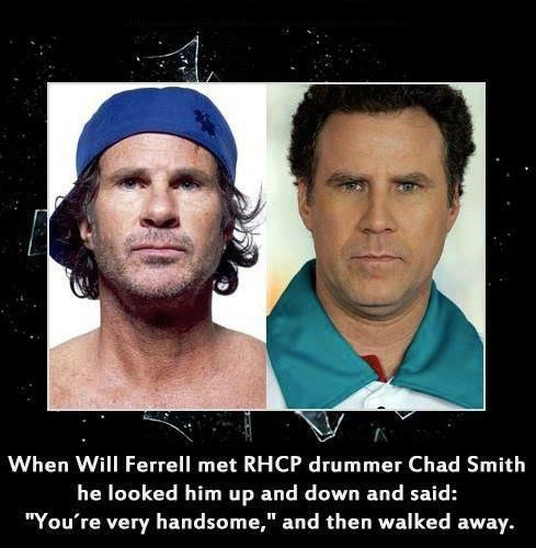 look alikes,red hot chili peppers,Will Ferrell
