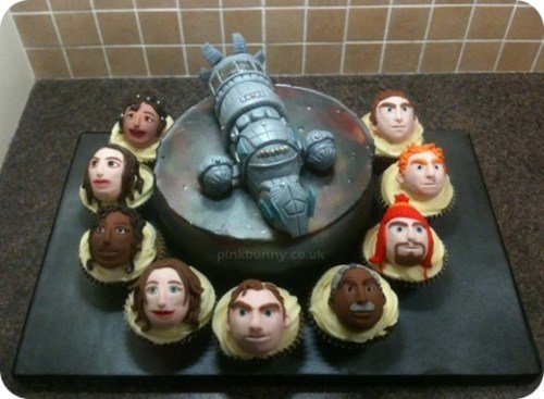 Firefly in Cake Form! Which Character Do You Want in Your Mouth?