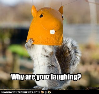 Why are youz laughing?