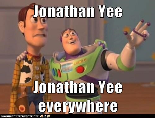 Jonathan Yee  Jonathan Yee everywhere