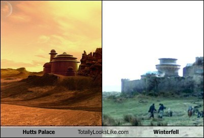 Hutt's Palace Totally Looks Like Winterfell
