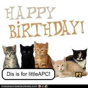Happy Birthday to littleAPC!