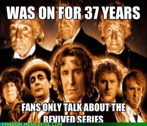 Sick of new DW fans forgetting this