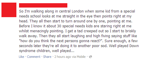 downs syndrome,creepy,pranksters,failbook,g rated