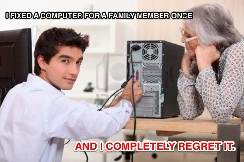 Now I'm the Unpaid IT Guy of the Family