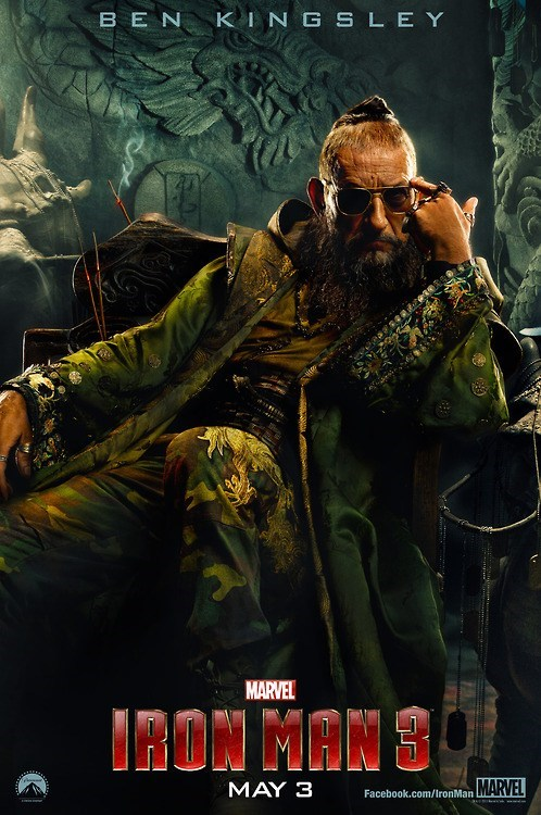 "First Look: Ben Kingsley as ""The Mandarin"" in ""Iron Man 3"""