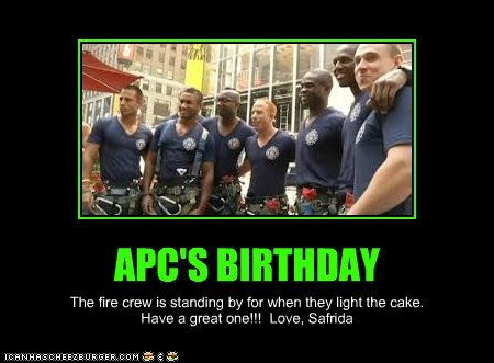 APC'S BIRTHDAY