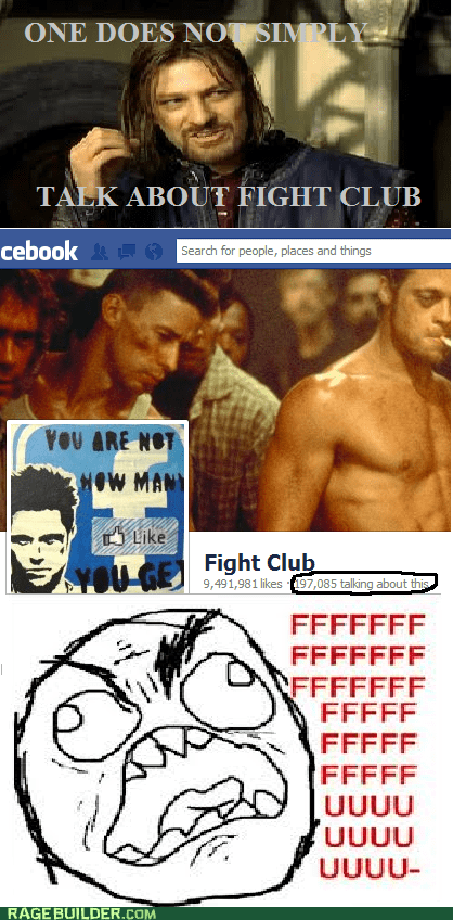 one does not simply,fight club