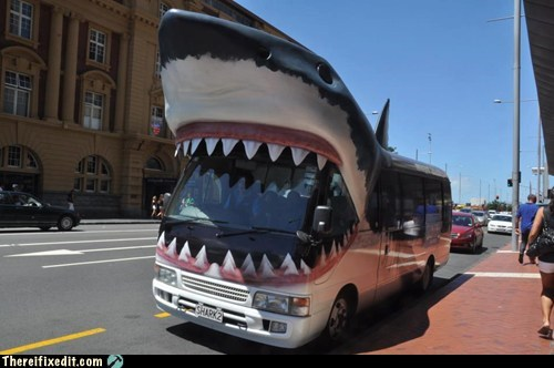 That is One Seriously Scary Bus