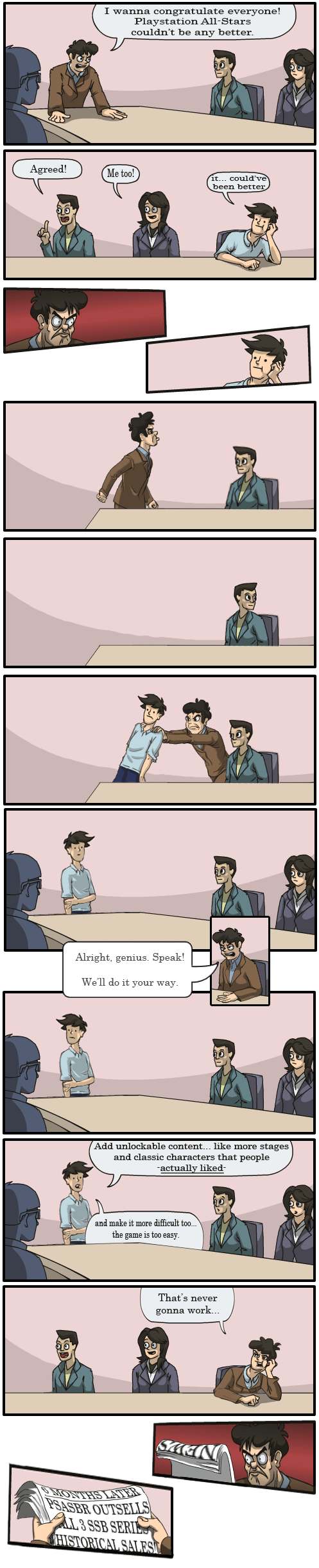 Not Another Boardroom Suggestion