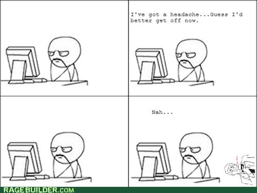 headache,browsing,lurking