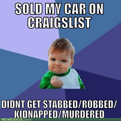 craigslist,cars,success kid
