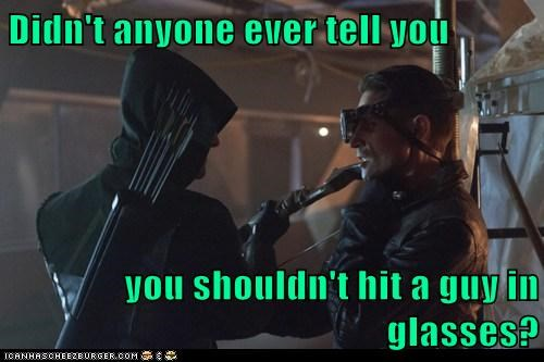 arrow,manners,glasses,stephen amell