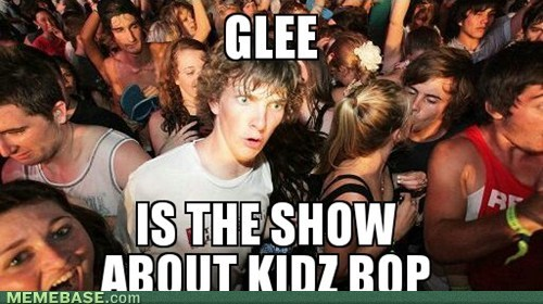 Can't Stand Glee? Clarence Knows Why!