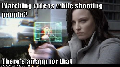 Watching Videos While Shooting People? There's an App for That