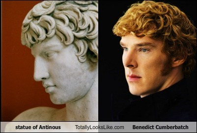 statue of Antinous Totally Looks Like Benedict Cumberbatch