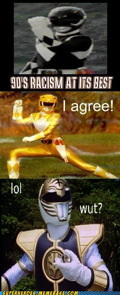 white,racist,power ranger