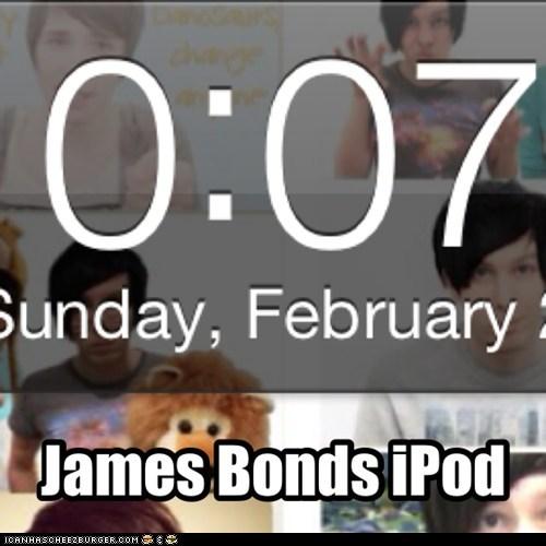James Bonds iPod