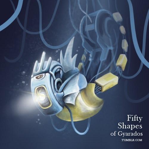 gyarados,mashup,Portal,fifty shades of gray
