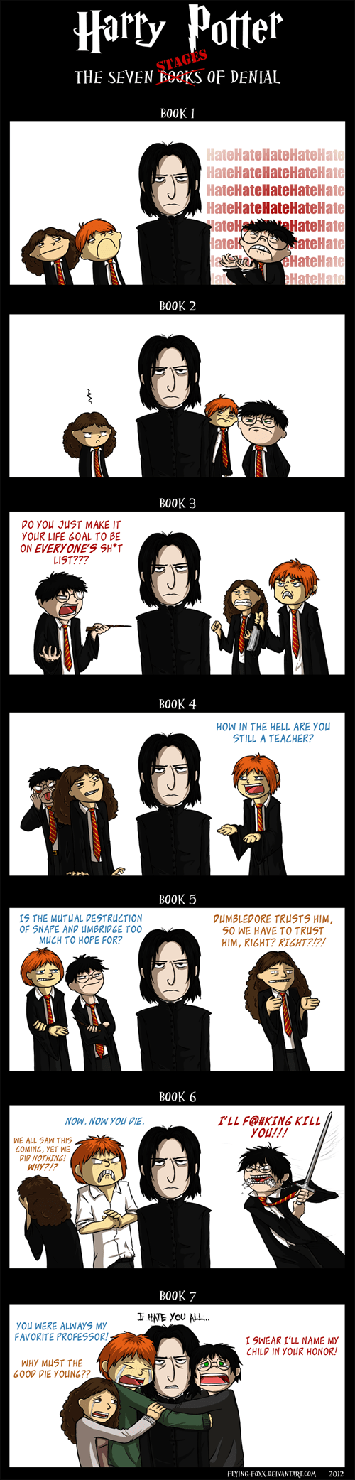 Harry Potter and the Feels About Snape