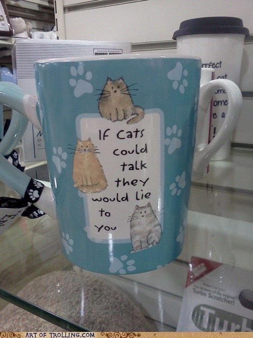 mugs,Cats,if cats could talk