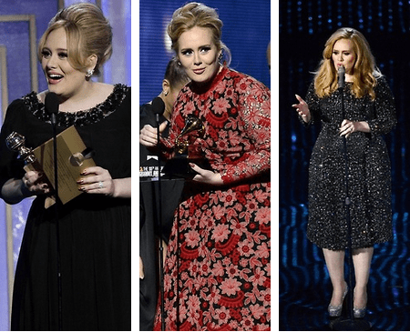 "Adele: Winner of Best Song for ""Skyfall"""