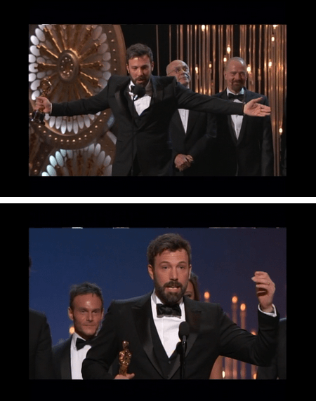 "Ben Affleck and George Clooney: Winners of Best Picture for ""Argo"""