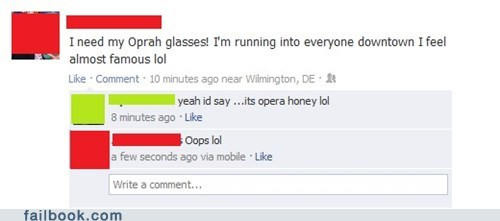 Oprah Glasses