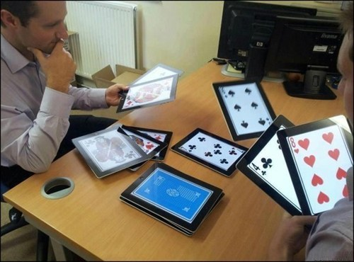 Wanna Play Poker But Don't Have Any Cards?