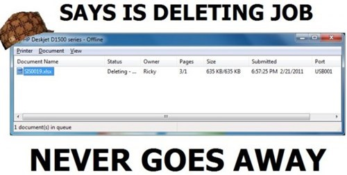 deleting rage