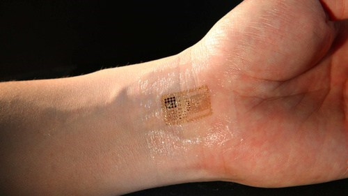 Temporary Tattoos That Control Machinery