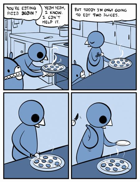 pizza,health,comic,food