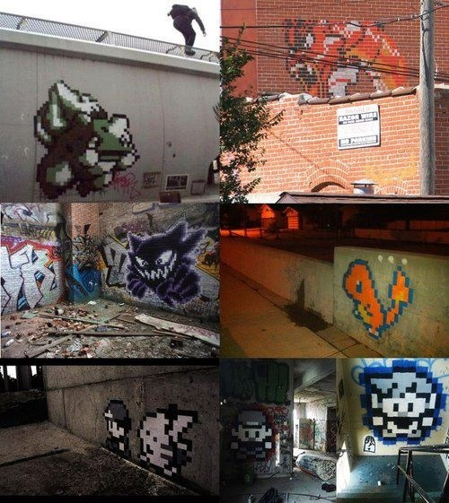 This Pokémon Graffiti is Super Effective