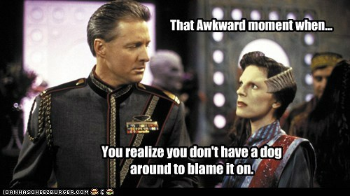 Maybe You Can Blame it On the Vorlon?!