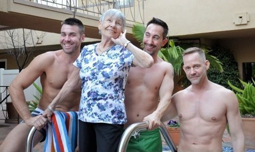 swimming pools,sexy men,mom