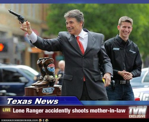 Texas News - Lone Ranger accidently shoots mother-in-law