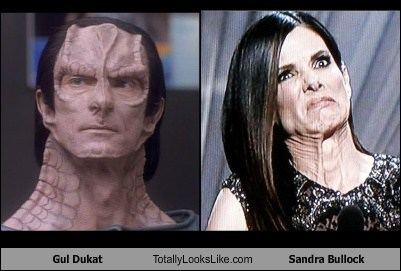 Gul Dukat Totally Looks Like Sandra Bullock