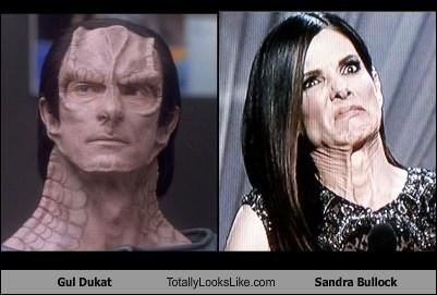 Gul Dukat Totally Looks Like Sandra Bullock