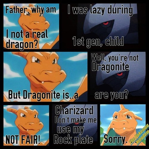 Charizard Speaks to the Creator