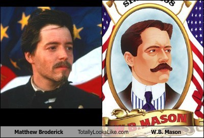 Matthew Broderick Totally Looks Like W.B. Mason