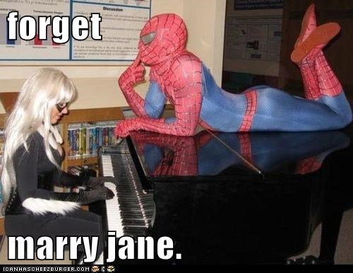 forget  marry jane.