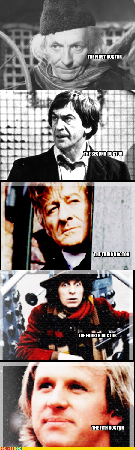The 5 Doctors Promo Pic