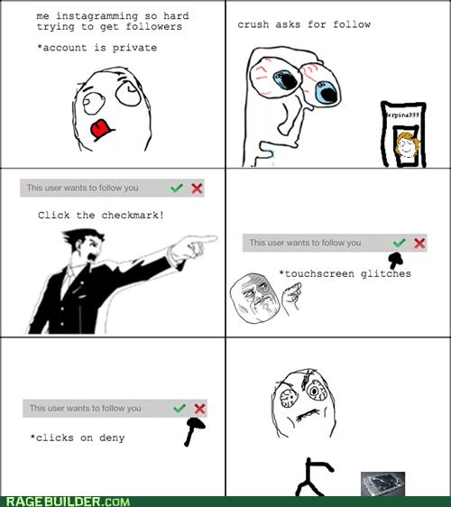 Instagram Rage