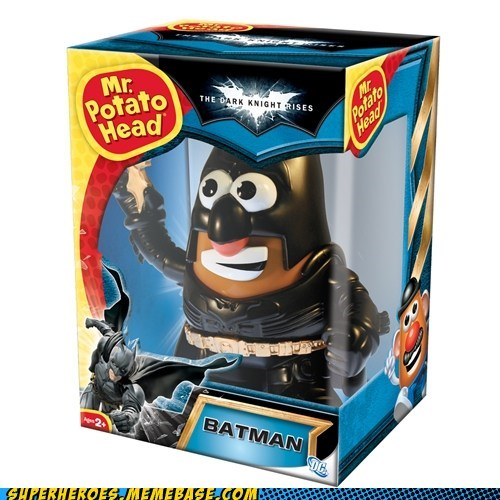 Dark Knight Rises Batman Mr Potato Head