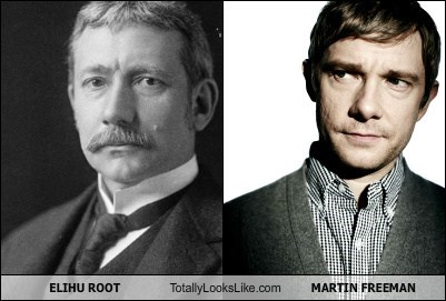 Elihu Root Totally Looks Like Martin Freeman