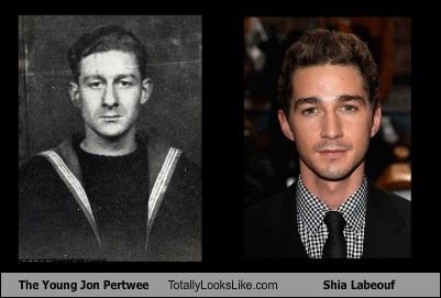 The Young Jon Pertwee  Totally Looks Like Shia Labeouf