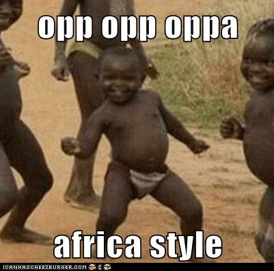 opp opp oppa  africa style