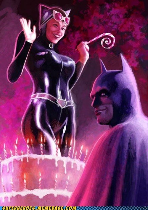 birthday,catwoman,batman