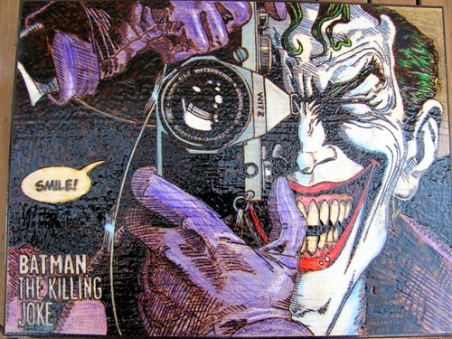The Killing Joke Pyrography